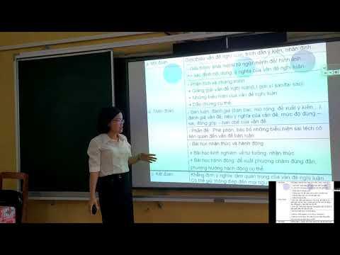 Môn Ngữ Văn 12, Chủ đề: Rèn kĩ năng viết đoạn văn về một tư tưởng, đạo lí, Vũ Thị Toan THPT Văn Chấn Văn Chấn