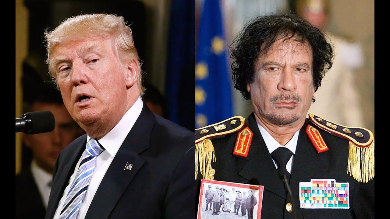 Trump Flip-Flops On Gaddafi THREE TIMES thumbnail