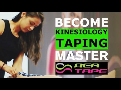 John Gibbons Bodymaster Kinesiology Taping Training with REA ...