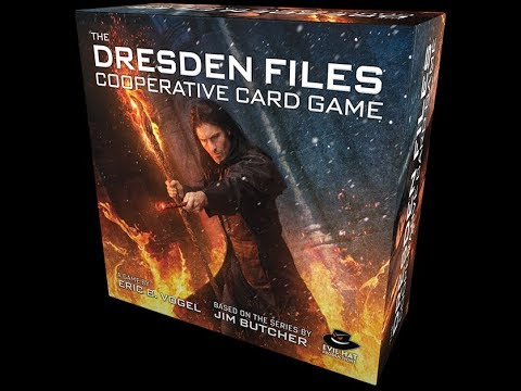 The Purge: # 1944 The Dresden Files Cooperative Card Game: A IP game using the Fate System that is more of a puzzle than a game