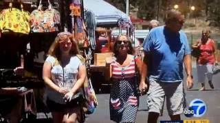 KABC ABC 7 Eyewitness News at 6pm cold open July 4, 2016