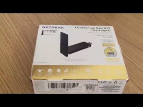 NETGEAR AC1200 Dual Band Wi-Fi USB 3.0 Adapter Unboxing and Review