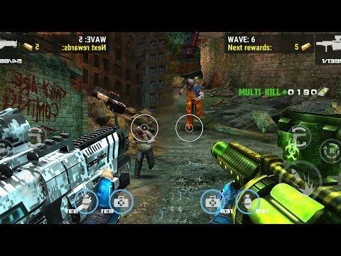 DEAD TARGET: Zombie    SKIN ARCTIC TESLA vs SKIN DESOLATOR MGL 「Android Gameplay」