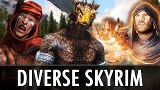 Skyrim Mod: DIVERSE SKYRIM