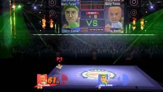 Super Smash Bros. for Wii U #6 - The Rock vs. JOHN CENA!