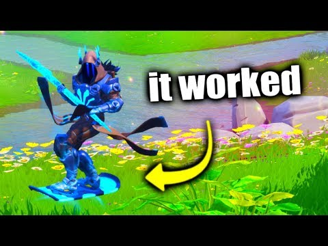 I Glitched & Got HOVERBOARD Early.. (Fortnite)