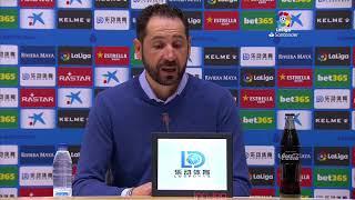 Rueda de prensa RCD Espanyol de Barcelona vs Real Betis