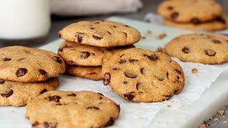 healthier oatmeal chocolate chip cookie recipe