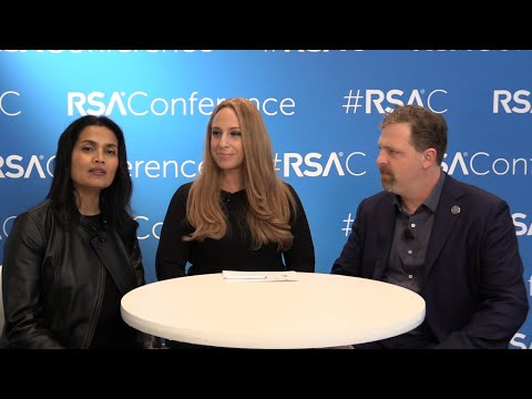 Liz Centoni and Matt Watchinski at RSA