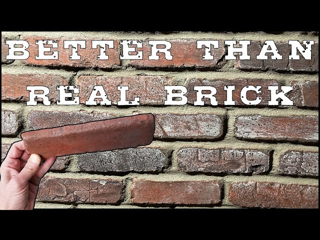 How To Install Thin Concrete Bricks