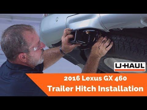 2016 Lexus GX 460 Trailer Hitch Installation