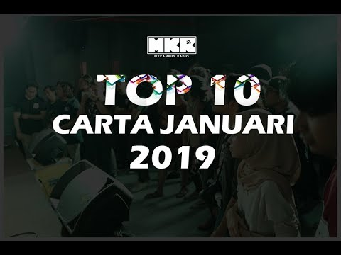 TOP 10 Carta Januari 2019