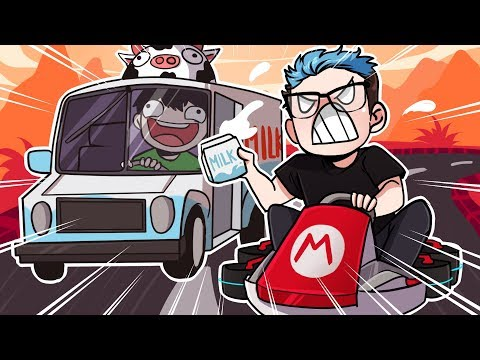 INTRODUCING THE MILK MAN!! - Mario Kart 8 Deluxe Gameplay Funny Moments