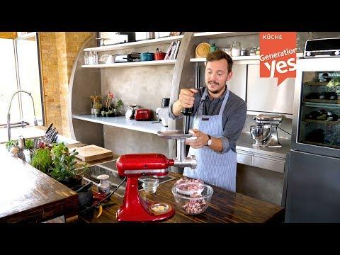 Warum wir den neuen Fleischwolf-Aufsatz für die KitchenAid so lieben! by Generation Yes