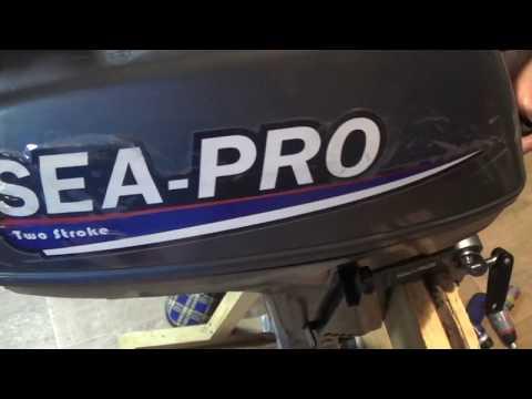 Ремонт  ручного  стартера лодочного  мотора SEA PRO 3 л.с.