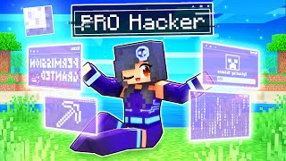 Playing As A Friendly HACKER in Minecraft!