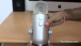 Blue Yeti microphone review & Audio test