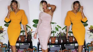 Cute Dresses & No Where To Go... FemmeLuxe.com & ChicHouz.com Haul