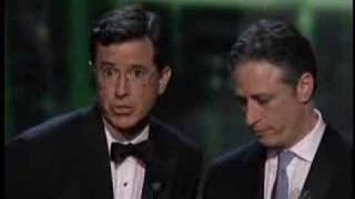 "Colbert ""I lost to Barry Manilow!"""