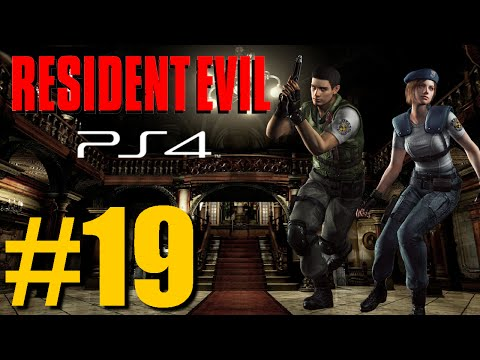 Let's Play: Resident Evil HD Remastered (PS4) Jill Gameplay - Part 19