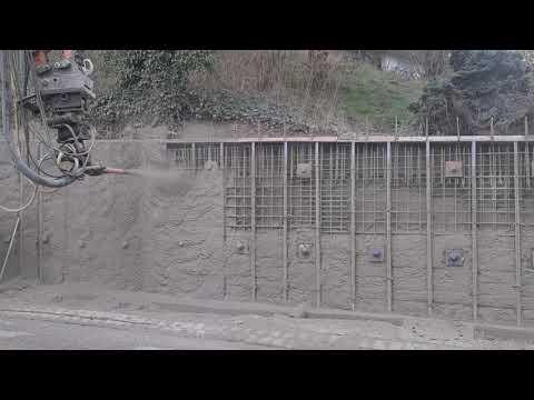 Video: Stützmauer November 2020