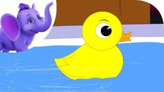 Yellow Ducky - Nursery Rhyme with Karaoke