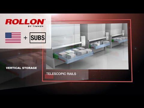 Linearsysteme für die Lagerlogistik