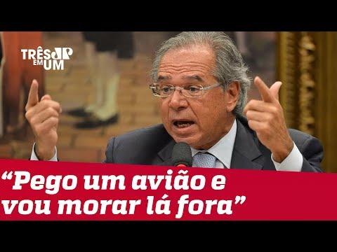 Paulo Guedes ameaça renunciar ao cargo se reforma da Previdência tiver economia menor que R$800 bi