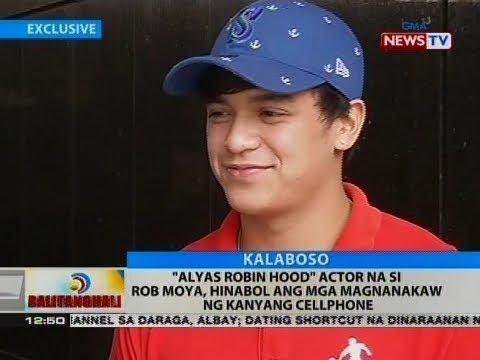"""BT: """"Alyas Robin Hood"""" actor na si Rob Moya, hinabol ang mga magnanakaw ng kanyang cellphone"""