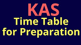 KAS Integrated Preparation for Prelims and Mains