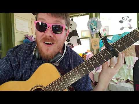 Vampire Weekend - Harmony Hall // easy guitar tutorial beginner