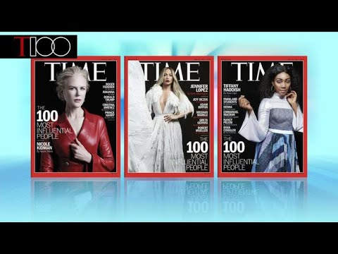 Most influential people revealed in Time 100