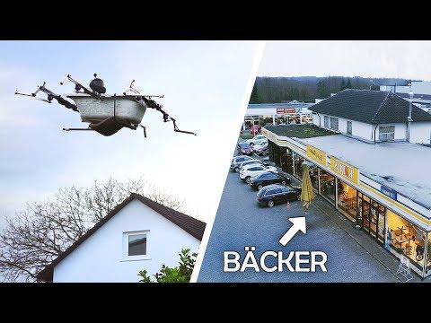 Ванна-вертолет от немецких изобретателей
