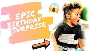 CRAZY BIRTHDAY SURPRISE | Britt's Space | Vlog