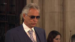 Andrea Bocelli  the Royal Philharmonic Orchestra - Ave Maria - Royal Wedding - 12th Oct 2018