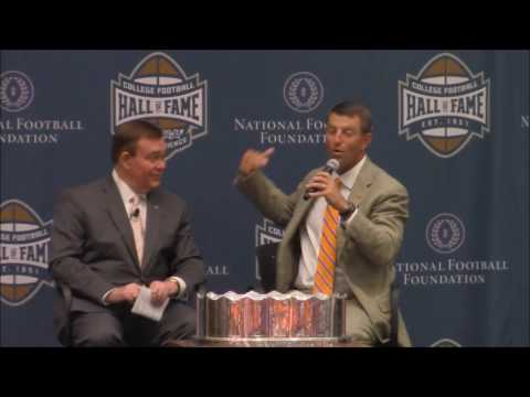 TigerNet.com - Fan in ER spots Dabo Swinney