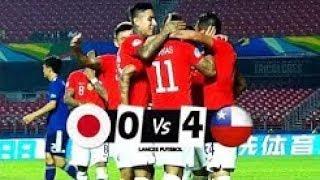 ملخص مباراة //تشيلي 4-0 اليابان //كوبا امريكا -تالق سانشيز