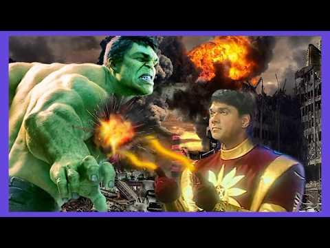 Hulk Vs Shaktimaan   best Fight sean Fanmade Battle