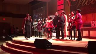 Delaware State University Gospel Choir- GEI - Hang On ft. Kierra Sheard