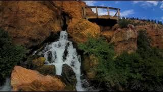 Cascade Falls Utah Dixie National Forrest 360VR 4K