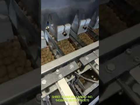 Four Head Linear Weigher Collar Type  Packing Machine