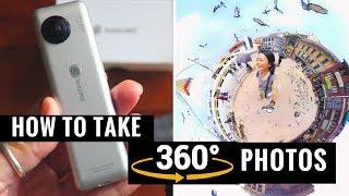How to Take 360 Photos w/ iPhone + INSTA360 NANO Review
