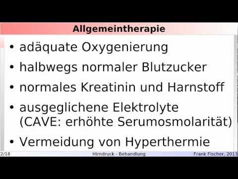 Intrakranielle Hypertension 1 Grad es