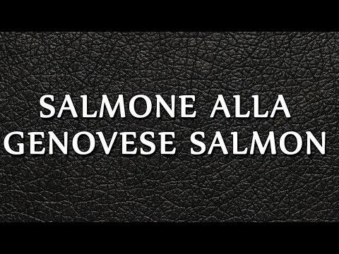 Salmone alla Genovese Salmon