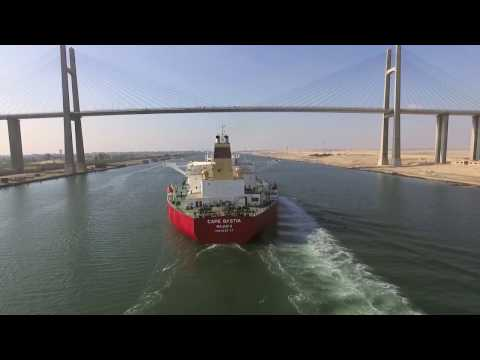 impressions of ship masters on the New Suez Canal