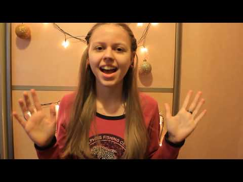 Новогодний клип /Ariana Grande - Santa Tell Me
