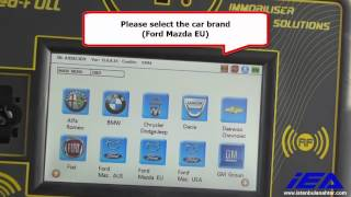 Mazda BT-50 2014 Key Programming