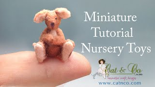 Roo Felt Toy Tutorial CATNCO