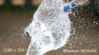 First Look! - Phantom VEO640S - Water Balloons explode at 5000fps!