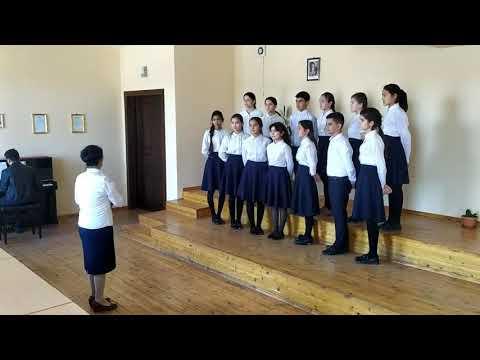 Ученический хор детской школы музыки и искусств №24